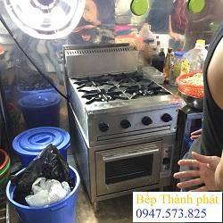 Bếp âu 4 có lò nướng
