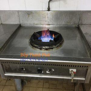 Ngọn lửa cháy xanh bếp á đơn