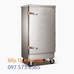 Tủ cơm công nghiệp 50 kg dùng điên