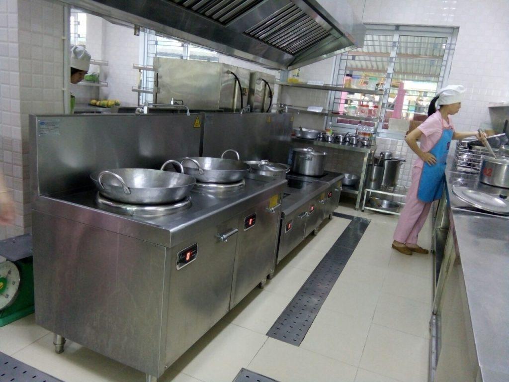 Bếp từ công nghiệp đôi được sử dụng nhiều trong các nhà hàng