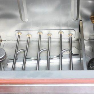 Hệ thống van xả nước tự động của tủ hấp bánh bao công nghiệp