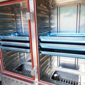 Tủ hấp cơm công nghiệp 12 khay Việt Nam của Bếp Thành Phát