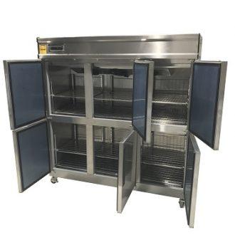Thiết kế 6 cánh tủ riêng biệt giúp bảo quản nhiều loại thực phẩm khác nhau tốt hơn