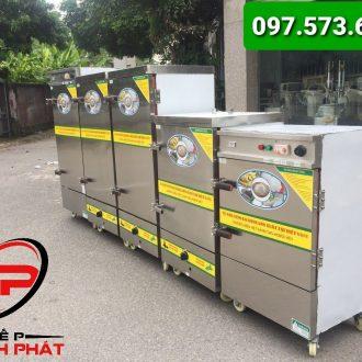 Tủ hấp công nghiệp dùng điện 6-24 khay 3