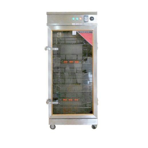 Tủ sấy bát đĩa 1 buồng có khả năng chứa từ 250 chiếc đĩa đến 300 chiếc