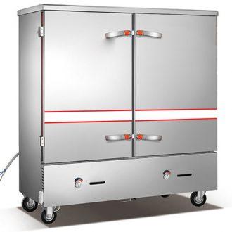 Bếp Thành Phát chuyên các sản phẩm tủ hấp cơm công nghiệp 24 khay Trung Quốc